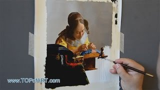 Vermeer - The Lacemaker | Art Reproduction Oil Painting