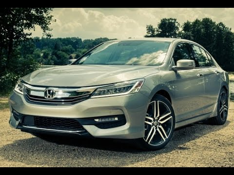 2017 honda accord exterior and interior review youtube. Black Bedroom Furniture Sets. Home Design Ideas