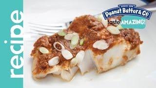 Peanut Butter Miso Glazed Cod Recipe