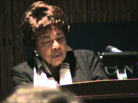 Dorothy Cotton address at 2009 Finger Lakes Bioneers, Part 3