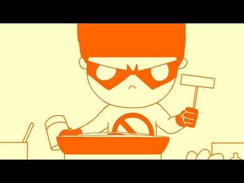 禽兽超人图_第九集:禽兽超人煎饼大赛 - YouTube