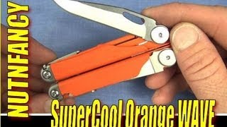 ORANGE Leatherman Wave: VERY Cool