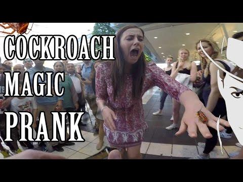 Virtual reality 'Cockroach'  Prank   -Julien Magic