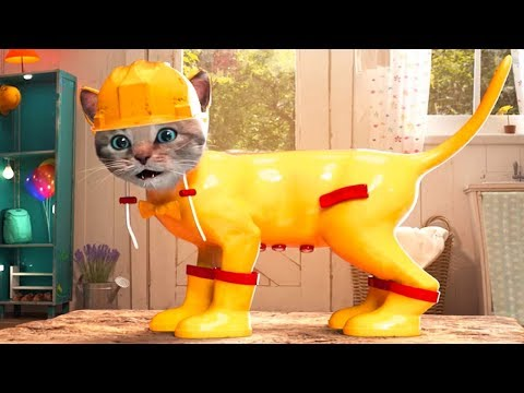Fun Pet Care Kids Game - Little Kitten Adventures - Play Fun Costume Dress-Up Party Gameplay