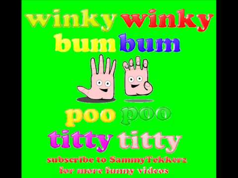 Winky Winky Bum Bum Poo Poo Titty Titty Song High Pitched Squeaky Voice Alvin And The Chipmunks