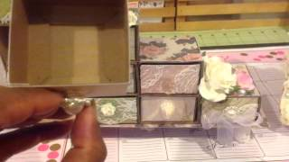 Sizzix Box, Candy Drawer Jewelry Box