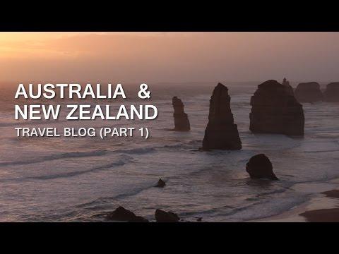 Australia & New Zealand Travel Vlog - Uncut (Part 1)