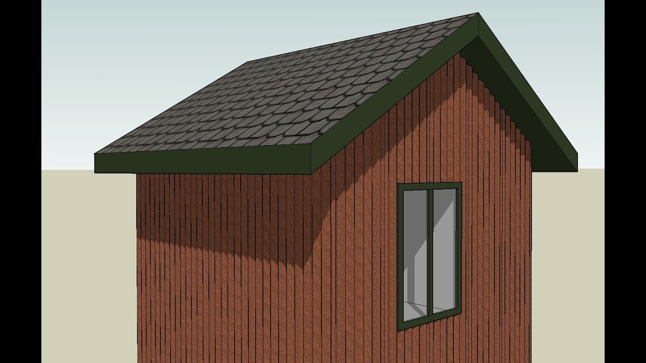 How to draw a gambrel roof in sketchup - Drawing Metal Panels With Sketchup Series Part 1 How To Draw Corrugated Metal Panels