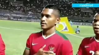 Merinding!!! Indonesia Raya🇲🇨 🎶Ayo dukung Timnas Indonesia #affsuzukicup2016 #IndonesiaBisa