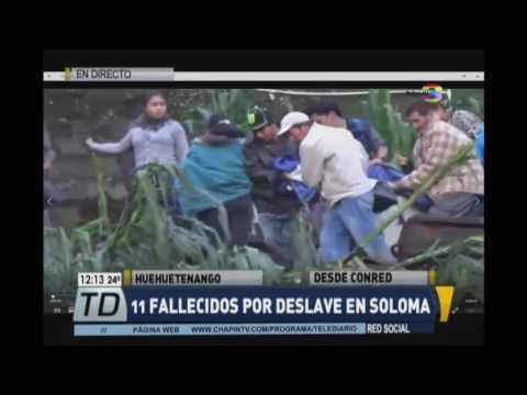 CONRED amplia información sobre tragedia en San Pedro Soloma
