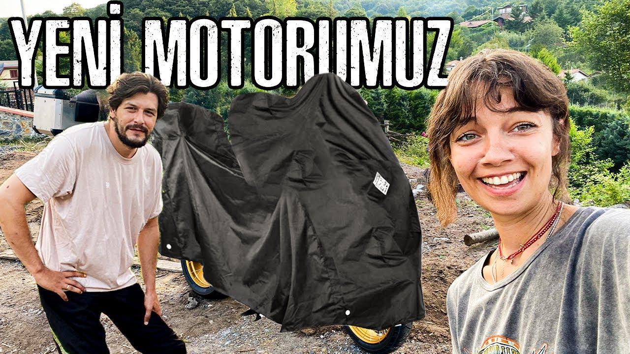 Yeni Bir Motosiklet Aldık ! Can Mobil !!
