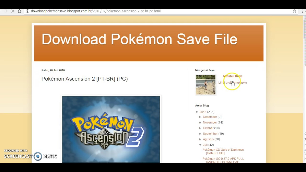 Pokemon ascension english download