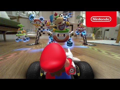 Mario Kart Live: Home Circuit – Tráiler de lanzamiento (Nintendo Switch)