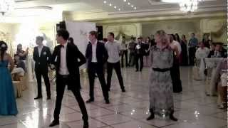 Наш флэшмоб на свадьбе Заура и Александры