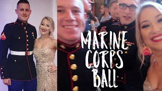 Marine Corps Birthday Ball | Get Ready With Me