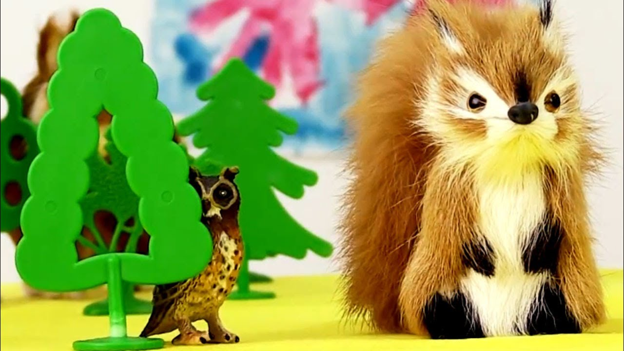 Машины сказки. Лес. Дикие животные. Логопедические занятия.