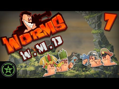 Whoa! We're Half Way There - Worms W.M.D. (#7) | Let's Play