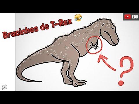 Por que o Tiranossauro Rex tinha braços tão pequenos? | Minuto da Terra