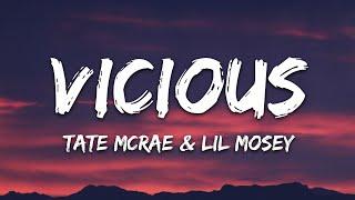 Tate McRae - vicious (Lyrics) ft. Lil Mosey