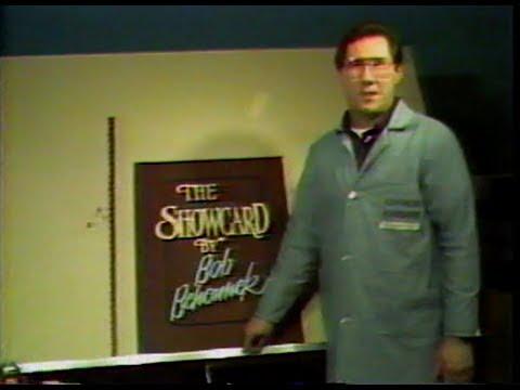 The Practical Showcard by Bob Behounek