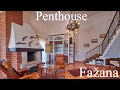🔵 CROATIA | LUXURY APARTMENT FOR SALE IN FAŽANA | 3 BEDROOMS | SEA VIEW | PENTHOUSE | FLAT ISTRIA |