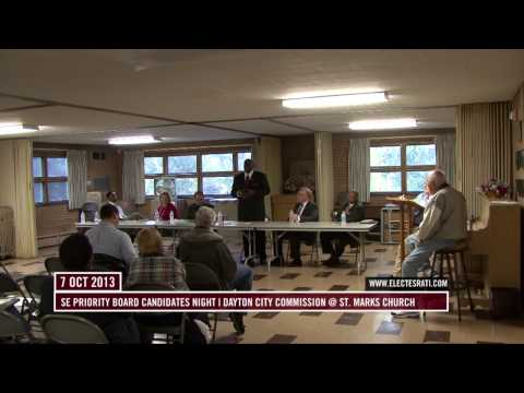 Dayton City Commission candidates night- South East Priority Board