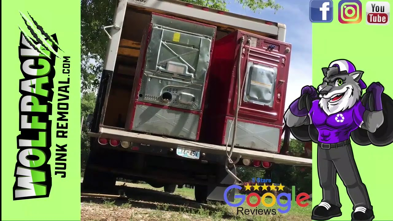 Old Broken #Appliances pick up Same or Next Day [Jenks, Oklahoma] by Wolfpack Junk Removal