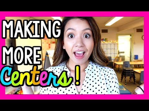 Setting Up More Centers! | Teaching Vlog Ep 12