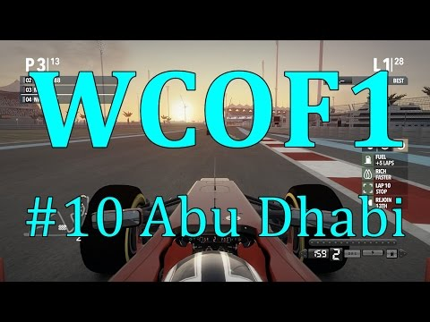 F1 2012 | WCOF1 | #10 Abu Dhabi | Sunset finale