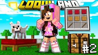 NO LO VAS CREER! 2do Día en Minecraft y ya Consigo 1 KARIM y DIAMANTES 😱 LoquiLand Sandra Cires Play