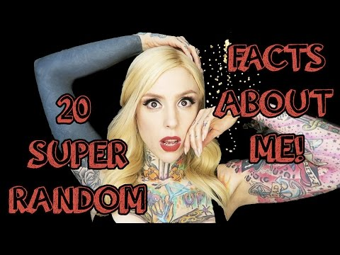 20 RANDOM FACTS ABOUT ME!