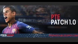 PES 2019 I REVIEW PTE PATCH 1.0