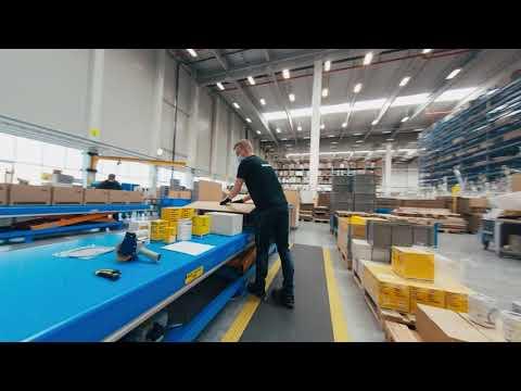Liebherr - Virtual tour around Liebherr-Logistics