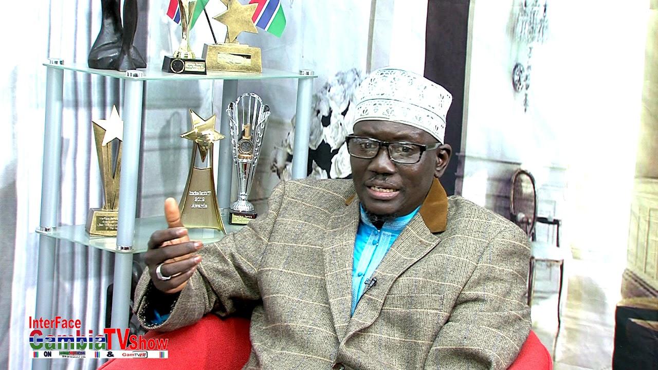 InterFace Gambia TV on  Wed 15th May 2019 with The Jollof Show akk Imam Sarr 2019 Ramadan