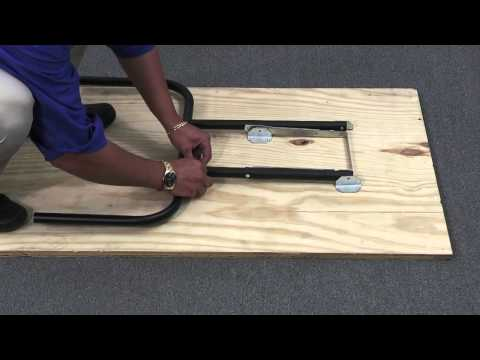 How to Assemble Waddell Folding Table Legs