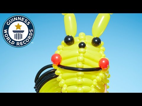 Largest Balloon Costume: Pikachu – Guinness World Records