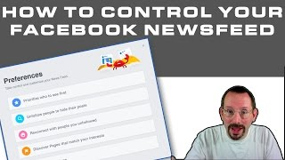 How to Control Your Facebook Newsfeed