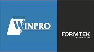 Winpro | Metal Forming Solutio…