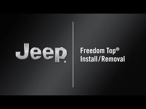 Freedom Top® Install/Removal | How To | 2021 Jeep Wrangler