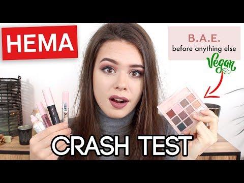 CRASH TEST ⎮HEMA vegan & cruelty free!