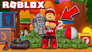 BRINCANDO no SIMULADOR DE BRINQUEDOS do ROBLOX → Toy Simulator 🎮