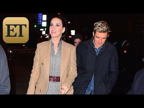 Katy Perry and Orlando Bloom Ignite Engagement Rumors With Massive Ring -- See the Sparkler! Mp3