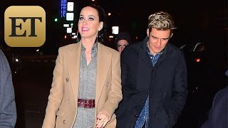 Katy Perry and Orlando Bloom Ignite Engagement Rumors With Massive Ring -- See the Sparkler!