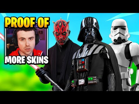 DrLupo PROVES More STAR WARS SKINS Are COMING   Fortnite Daily Funny Moments Ep.475