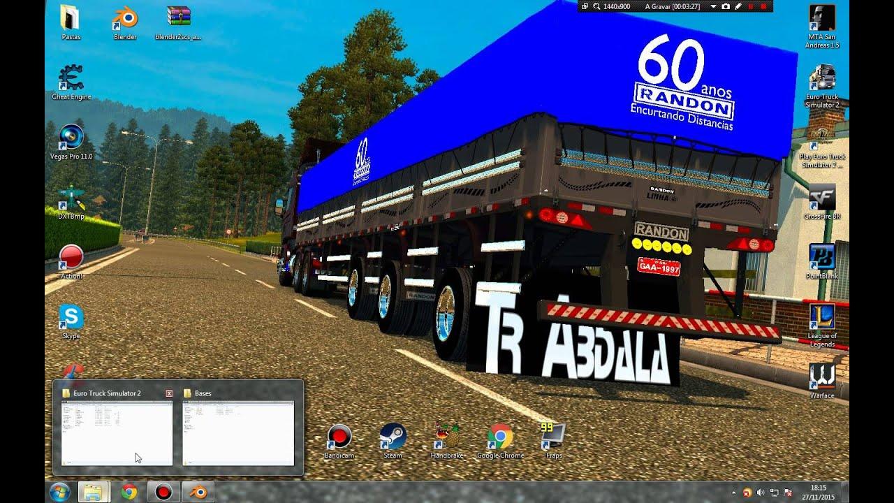 Video Tutorial - Instalando Plugins - Extraindo Base - Importando e  Exportando Trucks Ets2