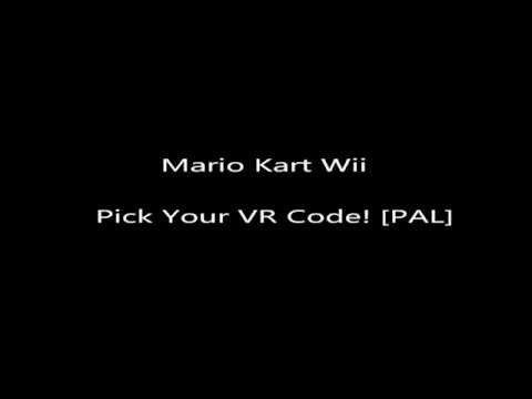 MKWII - Pick Your VR [PAL]