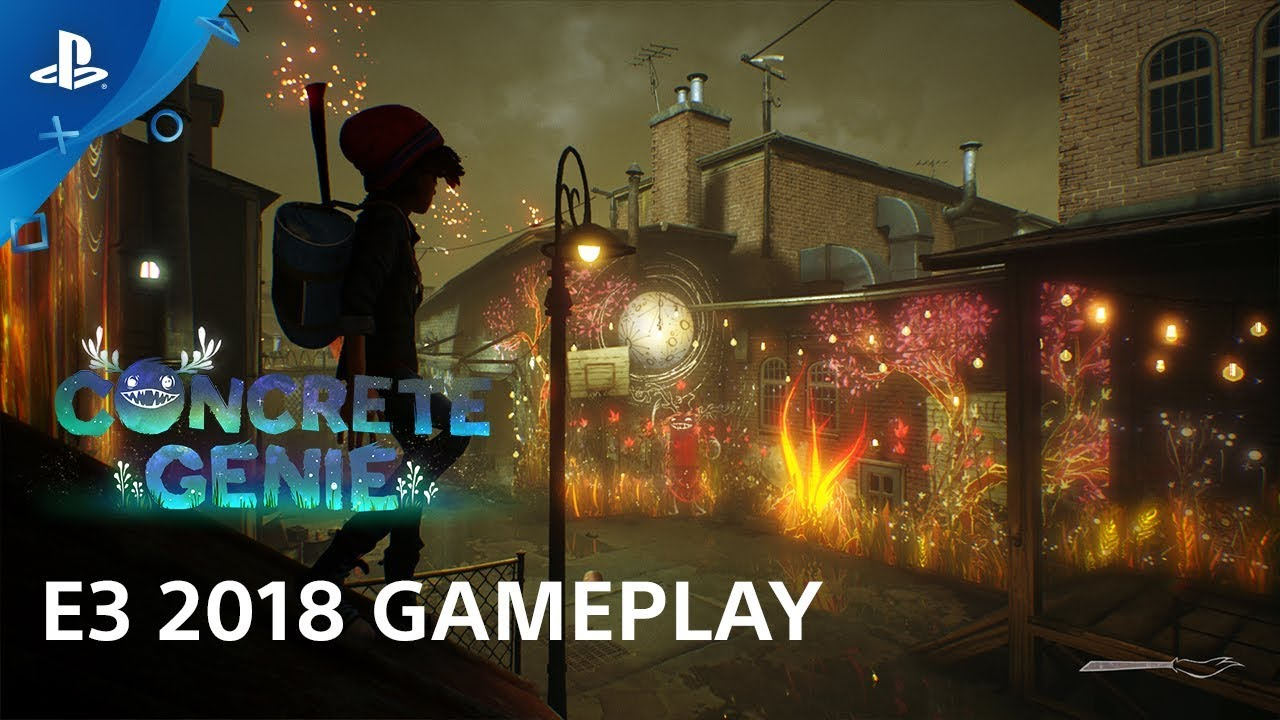 Concrete Genie E3 2018 Gameplay Demo | PlayStation Live from E3