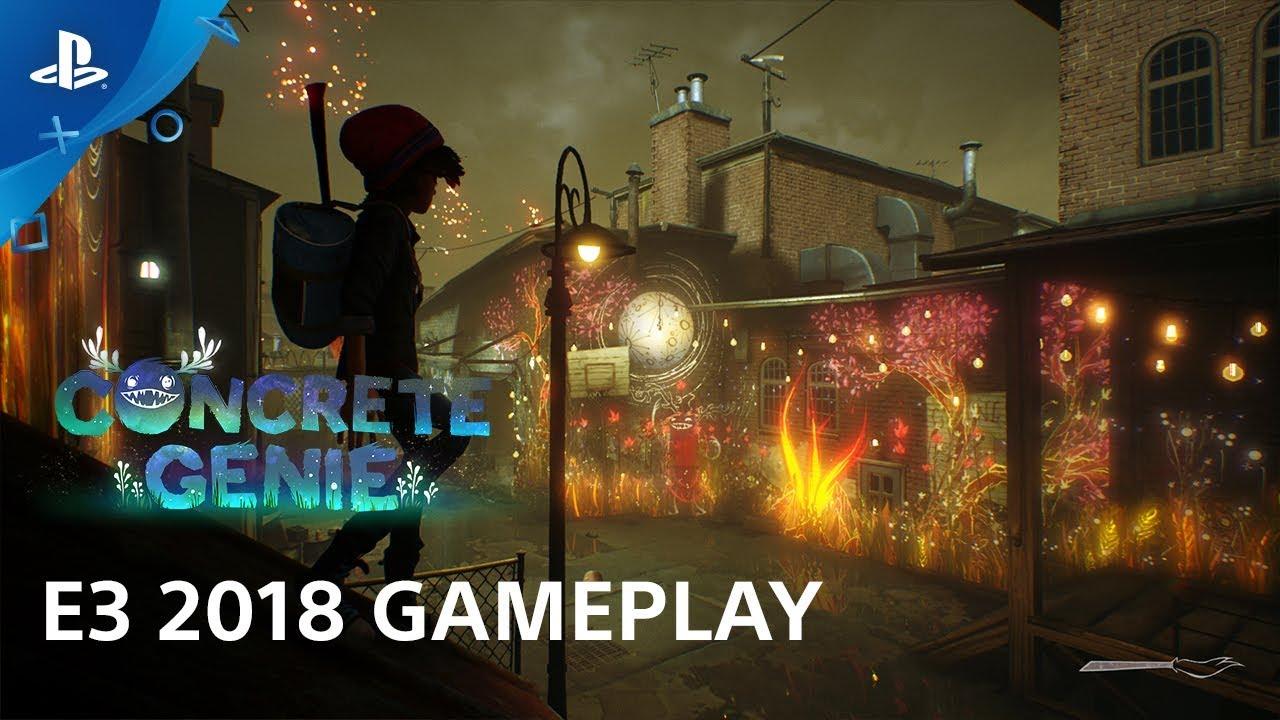 Concrete Genie E3 2018 Gameplay Demo | PlayStation Live from E3