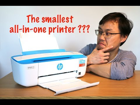 How easy is to setup HP DeskJet 3720 all-in-one printer with iPad?