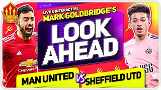 MANCHESTER UNITED vs SHEFFIELD UNITED! Declan RICE TO UNITED?